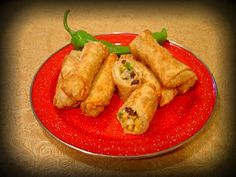 Babblings and More: Mexi Eggrolls
