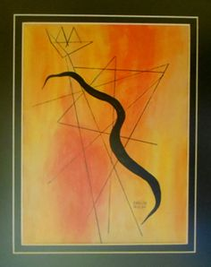 SIN TÍTULO  CARLOS MERIDA Categoría: Pintura. Técnica: Mixta, tinta y gouache.   Medidas: 27 x 20 cms. Fecha: S/f. Enmarcada: Si.
