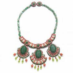 Suzanna Dai Coral Rajasthan Necklace
