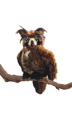Folkmanis Great Horned Owl Hand Puppet Best Price