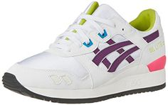d8041dff2dc1 ASICS Womens Gel Lyte III Retro Running Shoe WhitePurple 9 M US   Find out  more
