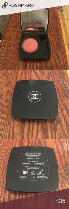 CHANEL Joues Contraste Powder Blush NWOT Description: Color: Rose Petale. Never used! No brush in blush box. Condition: New blush! Missing brush. Smoke free home! Ask questions before you purchase!                      SPECIAL OFFER🎉 For any makeup item, add $2 for a IPSY makeup bag! Just comment on the makeup product you want and which IPSY makeup bag you want, and I will create a separate listing for you! Chanel Makeup Blush