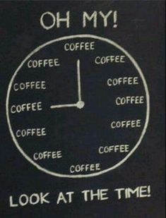 It's always Coffee Time!