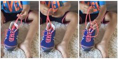 She claims it's the world's easiest way to teach kids to tie their shoes.
