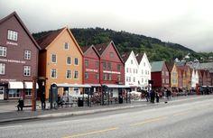 Bergen itt: Hordaland Bergen, Street View, Europe, Lights, City, Cities, Lighting, Rope Lighting, Candles