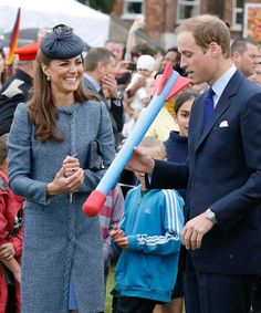 There are not many sports that William and Kate haven't tried out  - from polo to ping pong, the active couple are willing to give everything a go - and will no doubt encourage their children to do the same. Here they threw foam javelins at a children's sports event on a Diamond Jubilee visit to Nottingham in June 2012 Photo: © Getty Images