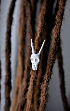 - korálek do dreadů / Zboží prodejce Bíds. Antlers, My Design, Insects, Dreadlocks, Beads, Fimo, Horns, Beading, Bead