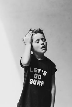 Let's go surf tee by Indigo Kids