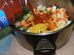 Canning Hamburger Soup