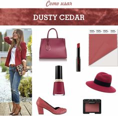 DUSTY CEDAR - ONE OF THE PANTONE COLORS OF FALL 2016