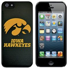 Iowa Hawkeyes School Logo iPhone 5 Hard Case
