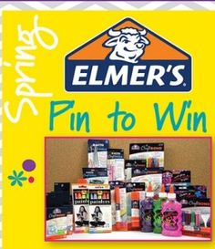 Elmer's Prize Pack Pinterest Giveaway - Coupon Clipinista