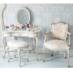 Delphine Shabby Chic Dressing Table  |  Dressing Tables  |  Tables  |  French Bedroom Company