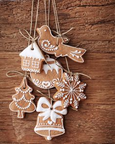 Navidad: Decorar con galletas.