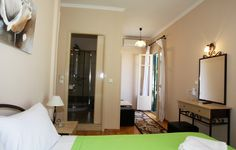 Lefcothea guest rooms with sea view - Wi-Fi  Each room sleeps 2 to 3 people in total 7 people For more info & pictures visit http://paxossunandsea.com/lefcothea-guest-rooms/