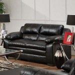Simmons Upholstery - Soho Bonded Leather Loveseat - 5066-L