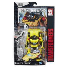 Product Description: A Combiner robot needs contributions from every bot that forms it, and Optimus Maximus is no different. Optimus Prime can bring the courage. Prowl can provide the strategy. Sunstr