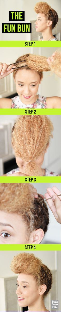 The Fun Bun | 26 Incredible Hairstyles You Can Learn In 10 Steps Or Less