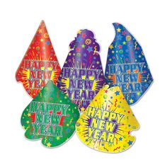 Jamboree Hat New Year's Eve Party Kit (50ct)