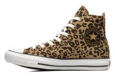 Chuck Taylor All Star Cheetah Print Hi W af Converse (Multi) på Sarenza.dk