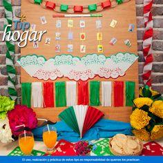 Decoración con papel tricolor. Crea la atmósfera ideal para celebrar estas fiestas patrias en casa, hazlo con sencillos decoraciones de papel tricolor. Todo lo necesario para este tip lo encontrarás en Walmart. En Walmart SIEMPRE encuentras TODO y pagas menos.