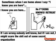 When I am home alone