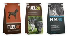 sophisticated look to dog food #packaging
