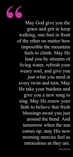 Refresh Your Weary Soul. Seek solace with Him. Believe in Blessings & Recharge.