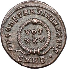 roman coin constantin I | Constantine I The Great 324AD Authentic Ancient Genuine Roman Coin ...