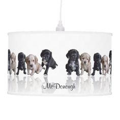 Cocker Spaniel #Puppies #Lamp by Artistically Home. If you love #cockerpspaniels, you'll love this, @Auntie Shoe does.