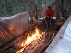 About using Space Blankets in emergency and survival situations by Cody Lundin.