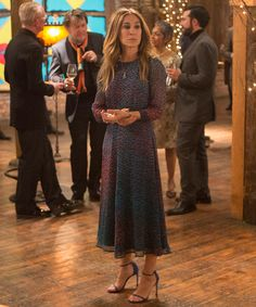 9 Things to Know About Sarah Jessica Parker's Costumes on Divorce - Her dresses are one-of-a-kind from InStyle.com