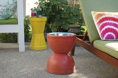 How To Make a Flower Pot Table