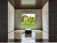 Lakewood Cemetery Garden Mausoleum, Minneapolis; designed by HGA Architects and Engineers
