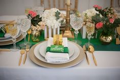 St. Patrick's Day tablescape // photo by Jasmine Nicole