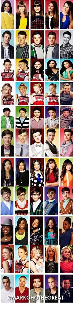 Glee through the years