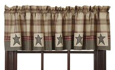 Discover the best farmhouse valances and rustic valances for your farm home. We love farm style valances and window treatments to add character and style. Primitive Bathrooms, Primitive Kitchen, Country Primitive, Primitive Decor, Primitive Windows, Country Farmhouse, Farmhouse Decor, Rustic Valances, Farmhouse Valances