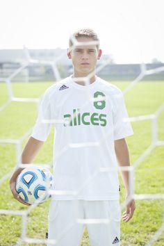 Soccer Senior Portrait | Bonnie Bowman Phototgraphy