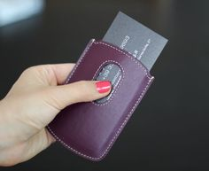luxury pocket business cards holder - true leather - http://www.bce-online.com/en/shop/special-products/business-card-holder.html