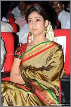 One among the few known for beauty in saree, is Nayanthara in Saree. Here are a few mind-blowing pictures of Nayanthara in saree that you can try too.