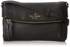 kate spade new york Cobble Hill Mini Carson Cross Body Handbag,Black,One Size Kate Spade Handbags, Kate Spade Purse, Black Handbags, Cheap Kate Spade, Kate Spade Outlet, Fashion Bags, Women's Fashion, Best Purses, Handbags Online