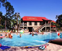 It's not on the beach, but Disney's 31/2 miles of private oceanfront -- featuring a beach house you can duck into for a break from the sun -- are just a five-minute shuttle ride away. Kids as young as 3 can learn about marshes and butterflies, and can take part in nature scavenger hunts at this resort.