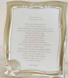 Marco laminado de plata 925, 25º aniversario, también disponible 50º aniversario, contorno ondulado con motivos florales, 19x25 cm.