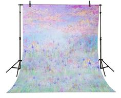 >> Click to Buy << Bokeh purple lavender flowers forest garden photography background Vinyl cloth Computer printed baby girl  backdrop #Affiliate