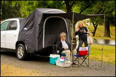 Tempus Strings in a Pontiac Aztek SRV & Pontiac Aztek Camping Package -- the toyotaplace | Road Camping ...