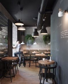 restaurant wall I Feel espresso bar, Kryvyj Rih, 2015 - Azovskiy amp; Decoration Restaurant, Bar Restaurant Design, Deco Restaurant, Vintage Restaurant, Modern Restaurant, Industrial Restaurant Design, Pub Decor, Lisbon Restaurant, Bistro Decor