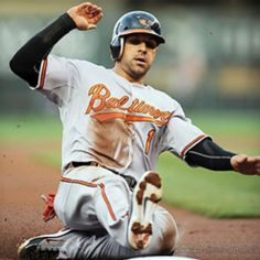 Welcome back Brian Roberts 6/12/12! Missed him in the Orioles line-up! Been gone too damn long!