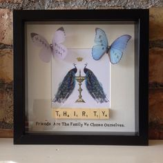 Quirky Thirty Vintage Frame