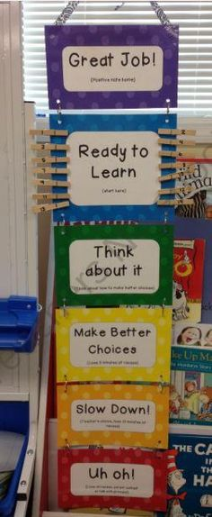 Behavior Chart - Polka Dot from K 3 Connection on TeachersNotebook.com (6 pages)  - This behavior chart is perfect for any early childhood classroom. It gives students the opportunity to come back from bad behavior and even allows them to move up for positive reinforcement. It is simple and will look great in any classroom. It can be use