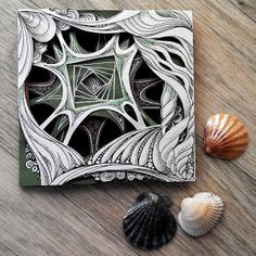 Look by hello_zenartIn einer Raum-Zeit-Seitentasche des Universums im forever TwilightDifferent Styles and uses for the Zentangle PatternAmazing example of zentagleWe talk about Art, Design and Architecture, feature talented artists from around the w Dibujos Zentangle Art, Zentangle Drawings, Zentangle Patterns, Art Drawings, Zentangles, Graffiti, Usa Tumblr, Zen Art, Mandala Art